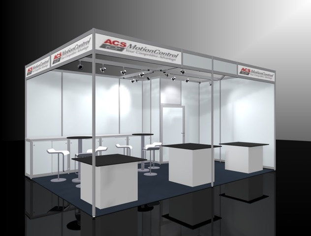 Messestand Modular Systems